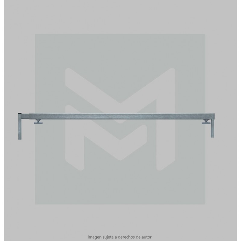 4m. Opened extenible bar 30x20