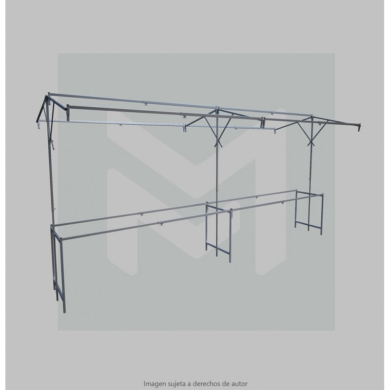 Umbrella styled market stall  6 m