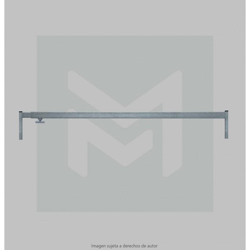4m Extensible stall bar 35x25