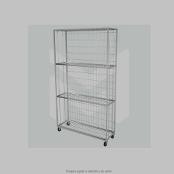 Wire rack trolly