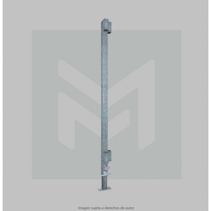 Corner upright automatic