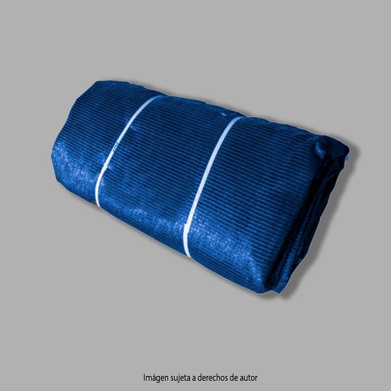 Malla de Sombra 10X15 mt. Azul 90gr