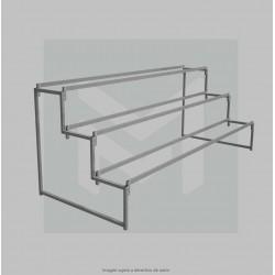 Table-top display stand KIT 3 Shelf