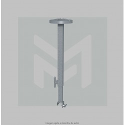 Telescopic roof support