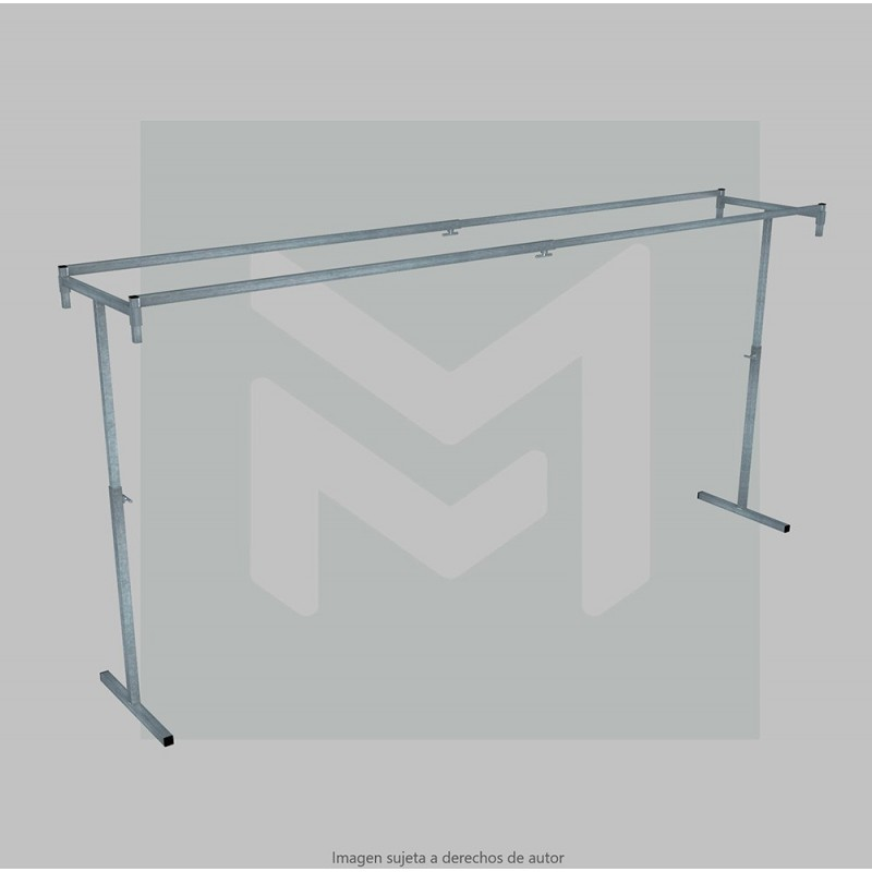 Stand hanger 2 telescopic bar