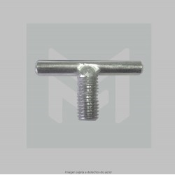 Handle knob thread