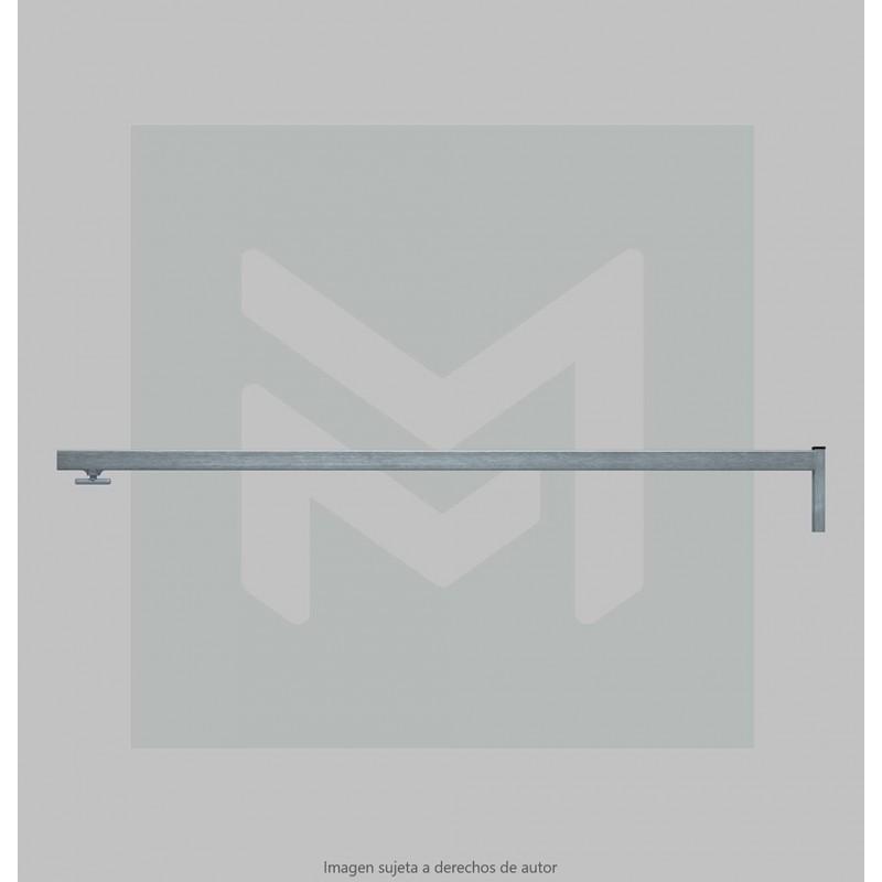 Standard Stall Bar link with knob 2 m