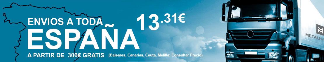 ENVIOS A TODA ESPAÑA A 13,31
